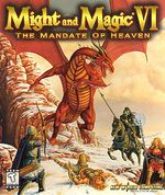 Jaquette Might and Magic VI : The Mandate of Heaven