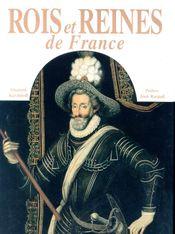 Couverture Rois et reines de France