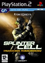 Jaquette Splinter Cell : Pandora Tomorrow