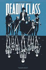Couverture Reagan Youth - Deadly Class, tome 1