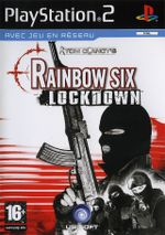 Jaquette Rainbow Six : Lockdown