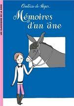 Couverture Mémoires d'un âne