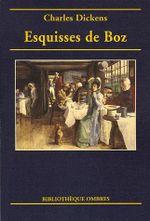 Couverture Esquisses de Boz