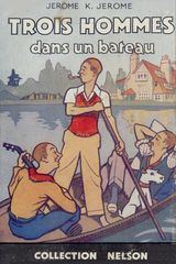 Couverture Trois hommes dans un bateau