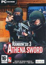 Jaquette Rainbow Six : Raven Shield - Athena Sword