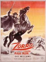 Affiche Zorro Contre Aigle Noir