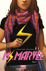 Couverture Métamorphose - Ms. Marvel (2014), tome 1