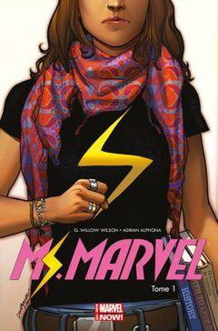 Couverture Métamorphose - Ms. Marvel, tome 1
