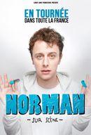 Affiche Norman sur scène