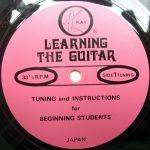 Pochette Learning the Guitar (Single)