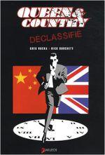 Couverture Queen & Country Déclassifié, tome 2