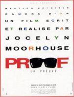 Affiche Proof (La Preuve)