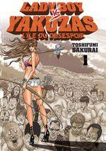 Couverture Ladyboy vs Yakuzas : L'île du désespoir