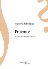 Couverture Province