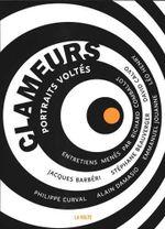 Couverture Clameurs : Portraits voltés
