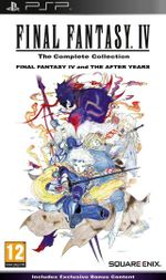 Jaquette Final Fantasy IV : The Complete Collection