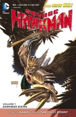 Couverture Darkness Rising - The Savage Hawkman, tome 1