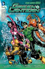 Couverture Green Lantern: Rise of the Third Army