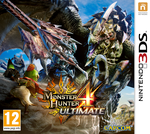 Jaquette Monster Hunter 4 Ultimate