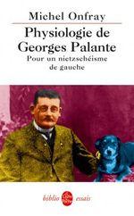 Couverture Physiologie de Georges Palante
