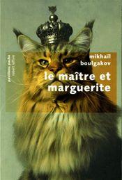 Couverture Le Maître et Marguerite