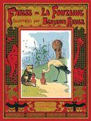 Couverture Les Fables de La Fontaine illustrées par Benjamin Rabier