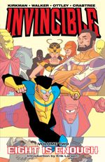 Couverture Eight is Enough - Invincible, Volume 2