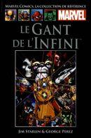 Couverture Le Gant de l'Infini - Marvel Comics La collection (Hachette), tome 26