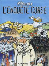 Couverture L'Enquête Corse - Jack Palmer, tome 12