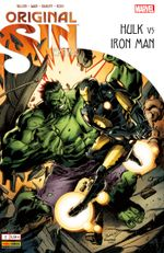 Couverture Hulk Vs. Iron Man - Original Sin Extra, tome 2