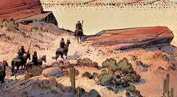 Cover Les meilleures BD de western