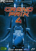 Jaquette Geoff Crammond's Grand Prix 4