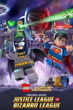 Affiche Lego DC Comics Super Heroes: Justice League vs. Bizarro League