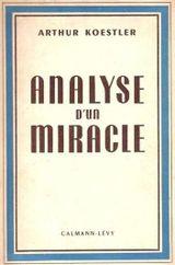 Couverture Analyse d'un miracle