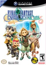 Jaquette Final Fantasy Crystal Chronicles
