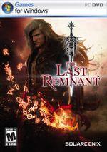 Jaquette The Last Remnant