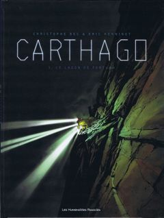 Couverture Le Lagon de Fortuna - Carthago, tome 1
