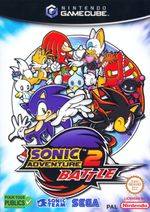 Jaquette Sonic Adventure 2 Battle