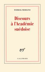Couverture Discours à l'Académie suédoise