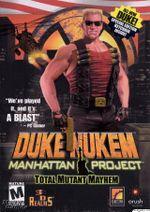 Jaquette Duke Nukem : Manhattan Project