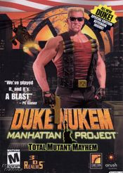 Jaquette Duke Nukem : Manhattan Project