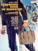 Affiche Symphonie pour un massacre
