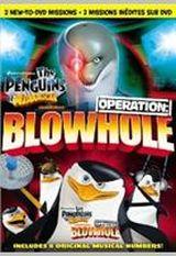 Affiche les Pingouins de Madagascar- Opération Blowhole