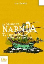 Couverture L'Odyssée du Passeur d'Aurore - Le Monde de Narnia, tome 5