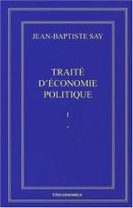 Couverture Traité d'économie politique