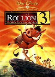 Affiche Le Roi Lion 3 : Hakuna Matata