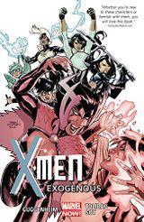 Couverture Exogenous - X-Men (2013), tome 4