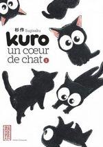 Couverture Kuro, un cœur de chat