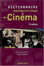 Couverture Dictionnaire théorique et critique du cinéma