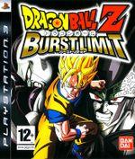 Jaquette Dragon Ball Z : Burst Limit